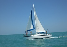 Key West Sailing Adventure Obsession under sail