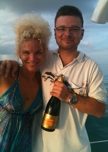 Key West Sailing Adventure romantic engagement made at sea
