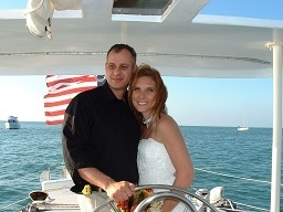 Getting Married At Sea wedding in the tropics