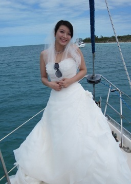Beautiful Bride All the Way from China
