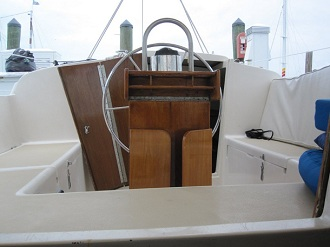 Key West Sailing Adventure Private Sailing Charters Our Boat Obsession View Of Helm