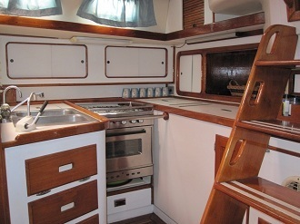 Key West Sailing Adventure Private Sailing Charters Our Boat Wild Thing Galley